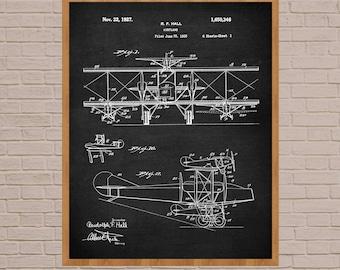 Vintage Airplane, biplane, vintage biplane, vintage plane, airplane decor, airplane nursery, airplane decoration, airplane plane