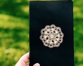 Gold Mandala Moleskine Notebook