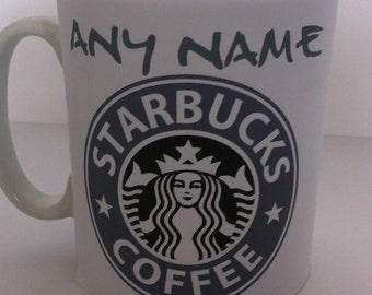 Starbucks personalised coffee mug 232