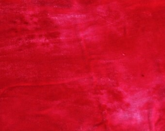 Velvet, hand-dyed silk-backed rayon velvet, Hot Pink