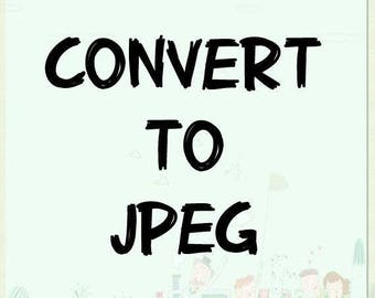 convert PDF file to JPEG file