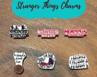 Stranger Things Charms