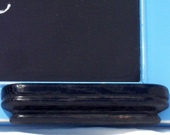 "chalkboard, rustic, kitchen, shabby chic, 14""x15"", wooden, spa blue"