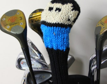 Spock, Star Trek, Knit, Golf Club Cover, Golf Headcover, Golf Head Cover, Golf Gift, Gifts for Men, Sci Fi, Geek, Nerd