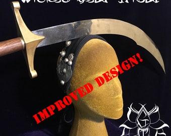 Belly dance sword stabilizer headband, sword band, headdress, headpiece, belly dance headband, sword trainer