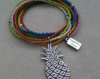 Pineapple Multi Strand Bracelet