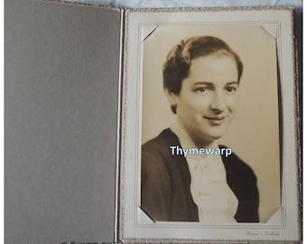 Vintage 1930's Girl Studio Photograph