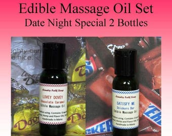 Massage Oil, Edible Massage Oil, Sensual Massage Oil, Valentines Gifts. For Boyfriends, Gifts For Girlfriends, Romantic Gifts For Him