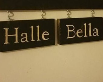 Additional signs for grandparent hanging sign