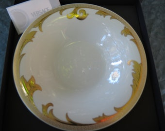 Versace Dishes - Rosenthal Arabesque Gold Bowl