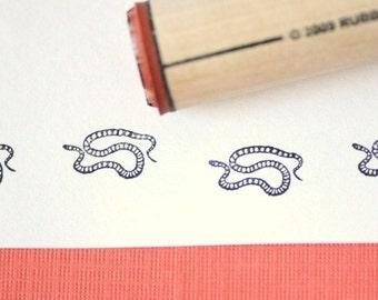 Snake Rubber Stamp