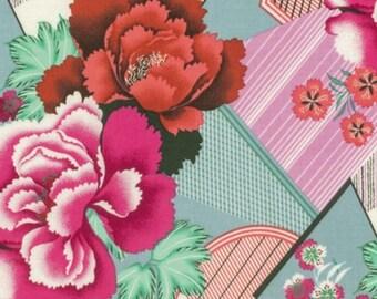 Amy Butler - Splendor - Double Fault Floral - Cherry