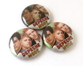 Depeche Mode 1inch Pinback Button or Magnet