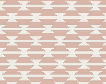 Arizona After - Tomahawk Stripe Blush - April Rhodes - Art Gallery Fabrics (AZA-6886)
