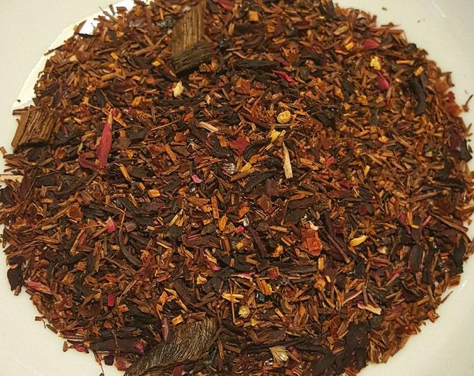 Featured listing image: Sabrina - Audrey Hepburn, Vanilla Roobios, Hibiscus, Rosehips, Vanilla Tea, Organic Roobios Tea, Herbal Tea, Organic Loose Leaf Tea, Vegan