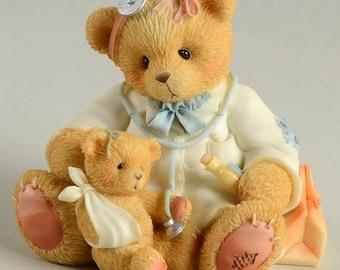 Cherished Teddies Membearship box 1998 Dr. Darlene Makebetter NEW