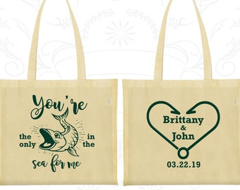 Cotton Tote Bag, Tote Bags, Wedding Tote Bags, Personalized Tote Bags, Custom Tote Bags, Wedding Bags, Wedding Favor Bags (254)
