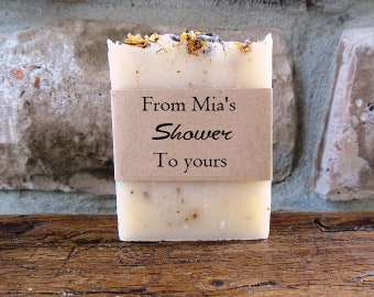SOAP for Shower Favors - Lavender Chamomile - Handmade soaps - Bulk Soap- Favors - Soap Favor - Soap Favors - Bridal Shower Favors