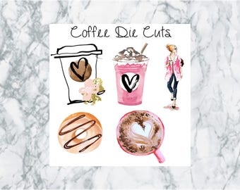Coffee and Donuts, Die Cuts