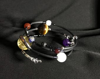 Planetary Wishing Stone Bracelet