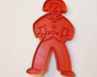 Dutch Boy Vintage Tupperware Imprint Cookie Cutter