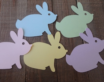 45 Easter Bunny Tags , Easter tags