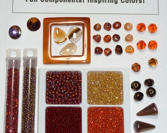 Color Plays The Joys of Autumn - Bead Pack