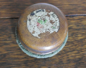 vintage gramaphone record buff cleaner his masters voice