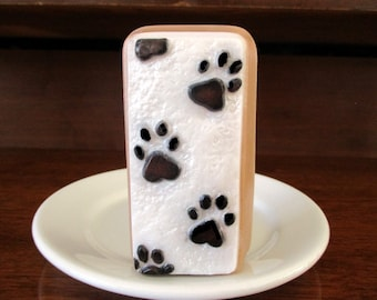 Paws in the Sand. Scent of Mulberry.For the animal lover, pet owner. Mother's Day gift.
