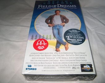 Vintage VHS Movie, Factory Sealed, Field of Dreams, 80884, Home Video
