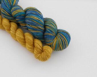 LOVE SOCK self-striping, 008, merino nylon sock yarn,100g
