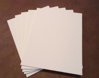 Matboard Blanks (80) 8 x 10 Matboard blanks for backing