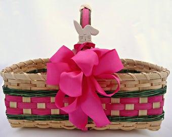 """BASKET PATTERN """"Nicolette"""" Easter Basket or Farmers Market Basket"""