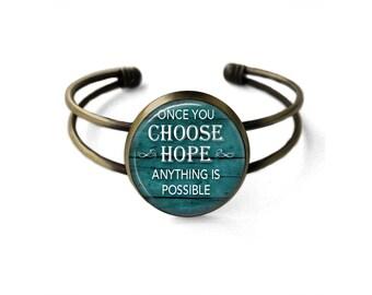 Choose Hope Cuff Bracelet