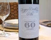 Printable Milestone Wine ...