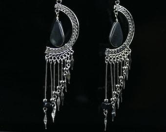 Ethnic Earrings // Tribal Earrings // Boho Earrings // Ethnic Jewelry // Bohemian Earrings //  Boho Jewelry // Gypsy Earrings //         W1