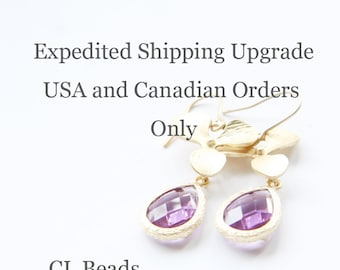 Expedited Shipping Upgrade - USA and Canadian Orders