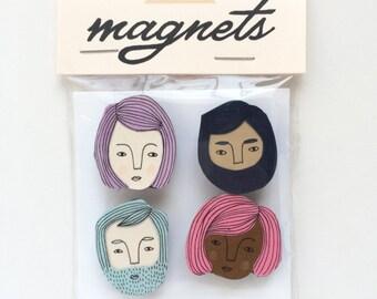 Kleine Flächen handgemachten Magnete