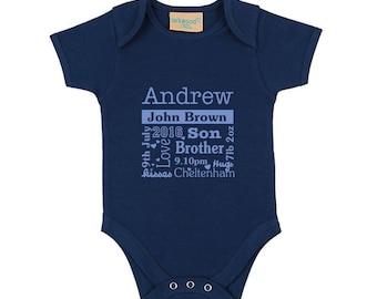 New baby - typography design bodysuit
