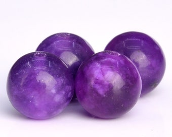 48 / 23 Pcs - 8MM Sugilite Beads Grade AAA Natural Round Gemstone Loose Beads (104756)