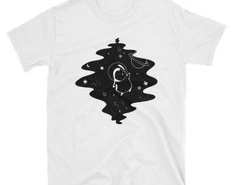 Galaxy Penguin T-Shirt