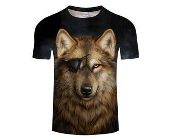 Wolf Shirt, Wolf Shirts, Wolf Tee Shirt, Wolf Tshirt, Wolves Shirt, Wolf T-shirt, Wolf, Wolves, Wolves Tshirt, Shirt, Wolf Tee - Style 14