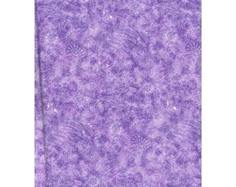 Lavender Paisley patchwork 11016hill fabric