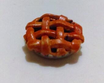 Dollhouse Miniature 1/6 Scale Blueberry Pie