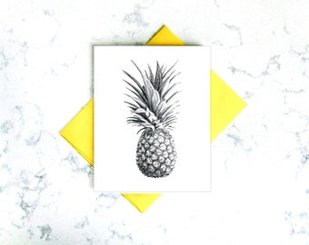 Pineapple greating card