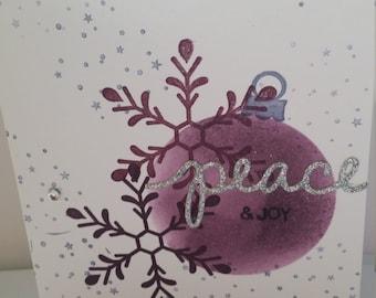 Christmas Peace Ornament - set of ten