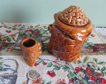 Coffee Bowl and toothpicks / Coffee Bowl and toothpicks