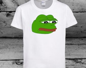 Pepe the Sad Frog T Shirt