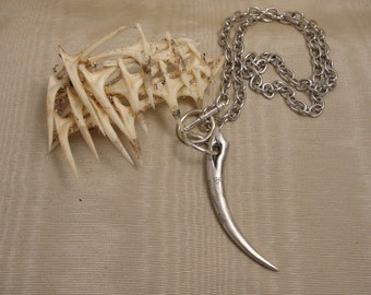 Gothic Jewelry, Vampire Jewelry, Men's Vampire Necklace, Vampire, Fangs, Gothic Necklace, Goth Jewelry, Men's Necklace, Goth, Gothic,