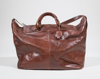 THE BRIDGE - leather travelling big bag